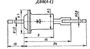Корпус стабилитрона Д818