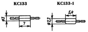 Корпус стабилитрона КС133