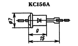 Корпус стабилитрона КС156Г