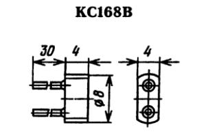 Корпус стабилитрона КС168В