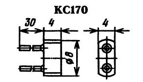 Корпус стабилитрона КС170