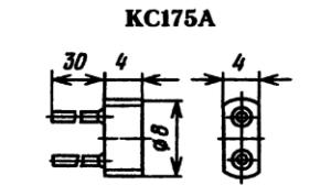 Корпус стабилитрона КС175А