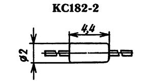 Корпус стабилитрона КС182А2