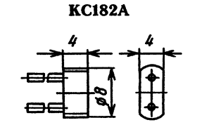Корпус стабилитрона КС182А