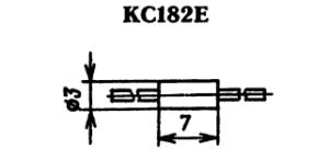Корпус стабилитрона КС182Е
