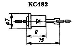 Корпус стабилитрона КС482
