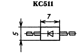 Корпус стабилитрона КС511