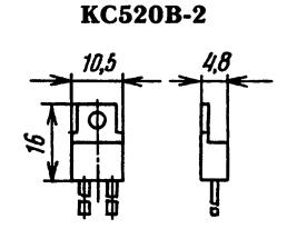 Корпус стабилитрона КС520В-2