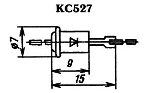Корпус стабилитрона КС527