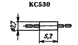 Корпус стабилитрона КС530