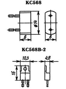 Корпус стабилитрона КС568