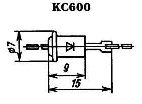 Корпус стабилитрона КС600
