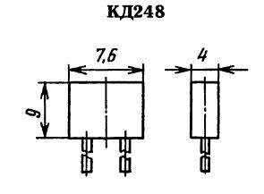 Корпус диода КД248