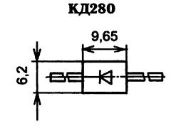 Корпус диода КД280