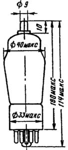 Корпус лампы 2Ц2С
