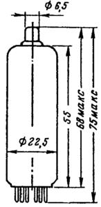 Корпус лампы 6Ц19П