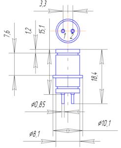 Корпус лампы 6Д24Н