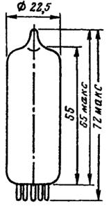 Корпус ламп 6С19П, 6С19П-В