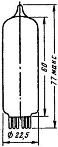 Корпус лампы 6С19П-ВР