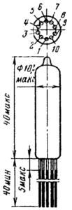Корпус лампы 6С31Б