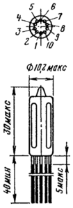 Корпус лампы 6С32Б