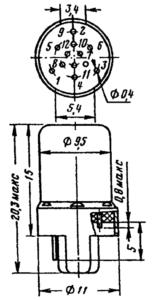 Корпус лампы 6С51Н