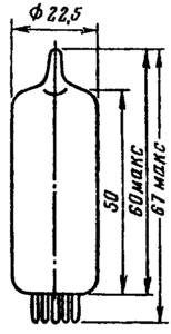 Корпус лампы 6Э6П