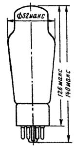 Корпус лампы 6Н13С