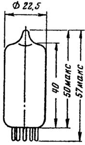Корпус лампы 6Н14П
