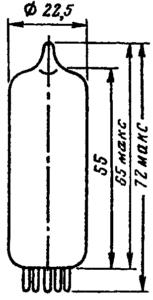 Корпус лампы 6Н30П-ДР