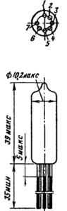 Корпус лампы 6Ж1Б-ВР