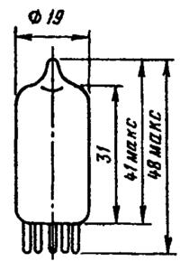 Корпус лампы 6Ж2П
