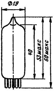 Корпус лампы 6Ж3П