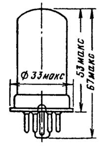 Корпус лампы 6Ж4