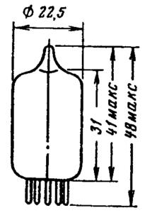 Корпус лампы 6Ж9П
