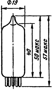 Корпус лампы 1К2П