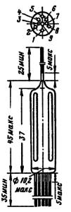 Корпус лампы 1П22Б