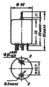 Корпус лампы 1П33C