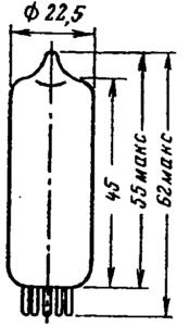 Корпус лампы 6К13П
