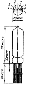 Корпус лампы 6К1Б