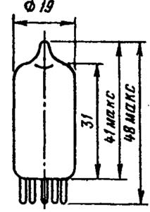 Корпус лампы 6К1П