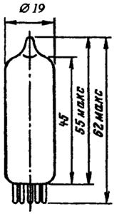 Корпус лампы 6К4П