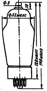 Корпус лампы 6П20C
