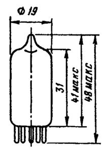 Корпус лампы 6Ж53П