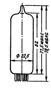 Корпус лампы 6Ф5П
