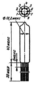 Корпус лампы 6П25Б