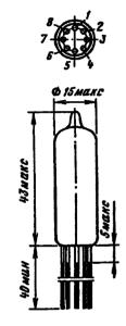 Корпус лампы 6П30Б-Р, 6П30Б-ЕР