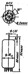 Корпус лампы 6П36C