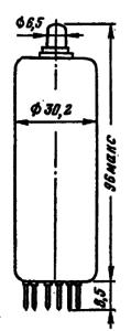Корпус лампы 6П44С