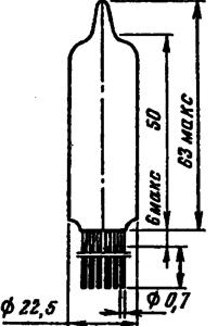 Корпус лампы 6Р2П